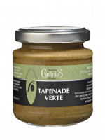 Green olive Tapenade , glass jar 110g