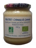 Organic Creamy Lavander Honey 500g
