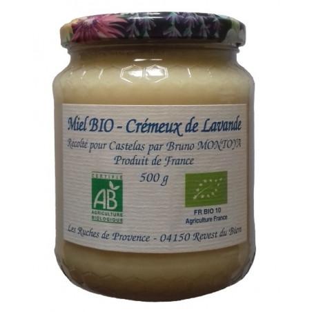 Organic Creamy Lavander Honey 500g