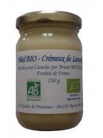 Organic Creamy Lavander Honey 250g