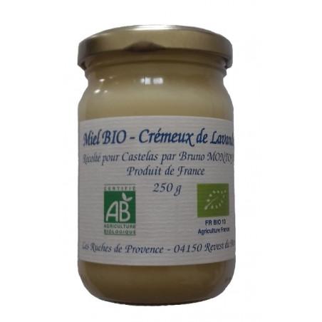 Miel Bio - Crémeux de Lavande 250g
