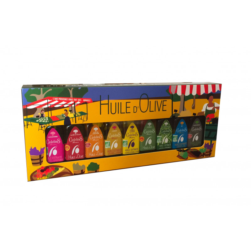 CastelaS Box of 9 mignonnettes (20ml bottle)